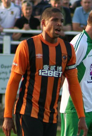 Curtis Davies - Davies playing for Hull City in 2014