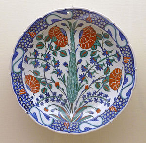 Fritware - İznik pottery, an example of fritware