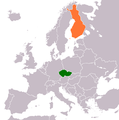 Czech Republic Finland Locator.png