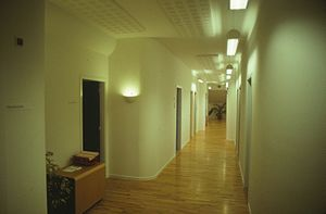 DDC-I - The DDC International office in Lyngby showed Danish design elements, here seen in 1992.