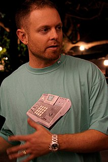 DJ Shadow American DJ and record producer from California