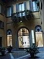 DSC02775 Milano - Cortile in via Manzoni - Foto Giovanni Dall'Orto - 20 jan 2007.jpg