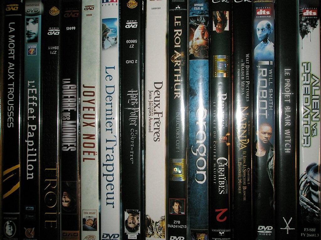 DVDs - édition vidéo