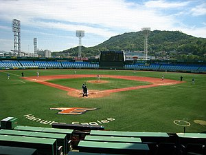 KBO League - Image: Daejeon Hanbat Baseball Stadium