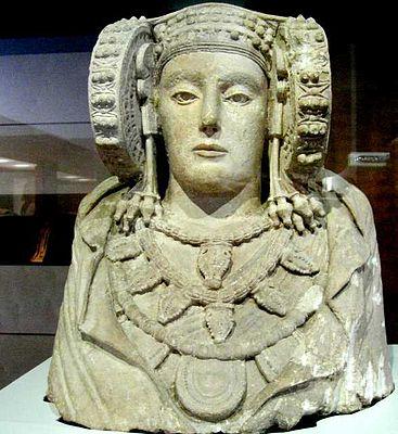Dama de Elche: Iberian (pre-Roman) fertility goddess statue