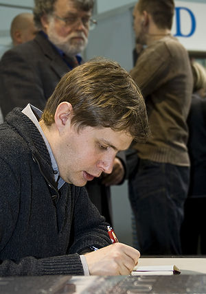 Daniel Kehlmann - Kehlmann at the Leipzig Book Fair, 2009