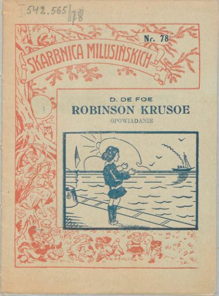 File:Daniel De Foe - Robinson Kruzoe.djvu