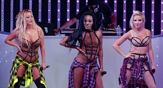 Danity Kane - Danity Kane performing in 2014
