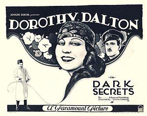 Dark Secrets - Poster for the film