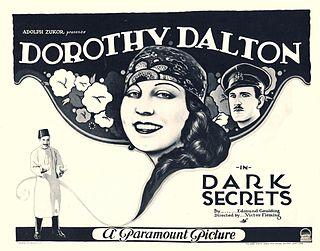 <i>Dark Secrets</i> 1923 film by Victor Fleming