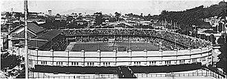 Estádio das Laranjeiras - Image: Das laranjeiras 1922