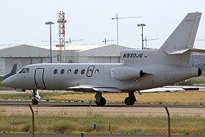 Dassault Falcon 50 (N930JG) private.jpg