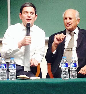 Lahore University of Management Sciences - David Miliband, former Secretary of State for Foreign and Commonwealth Affairs of UK at LUMS.