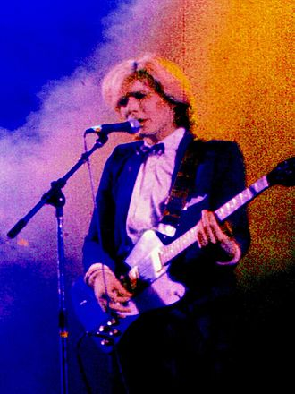 Ambient pop - David Sylvian (pictured in 1978) took an ambient pop direction later in his career