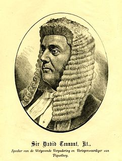 Cape politician, statesman and the second Speaker of the Legislative Assembly of the Cape Colony