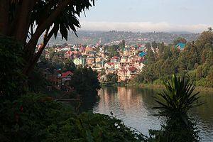 Bukavu - Image: Dawn on Lake Kivu