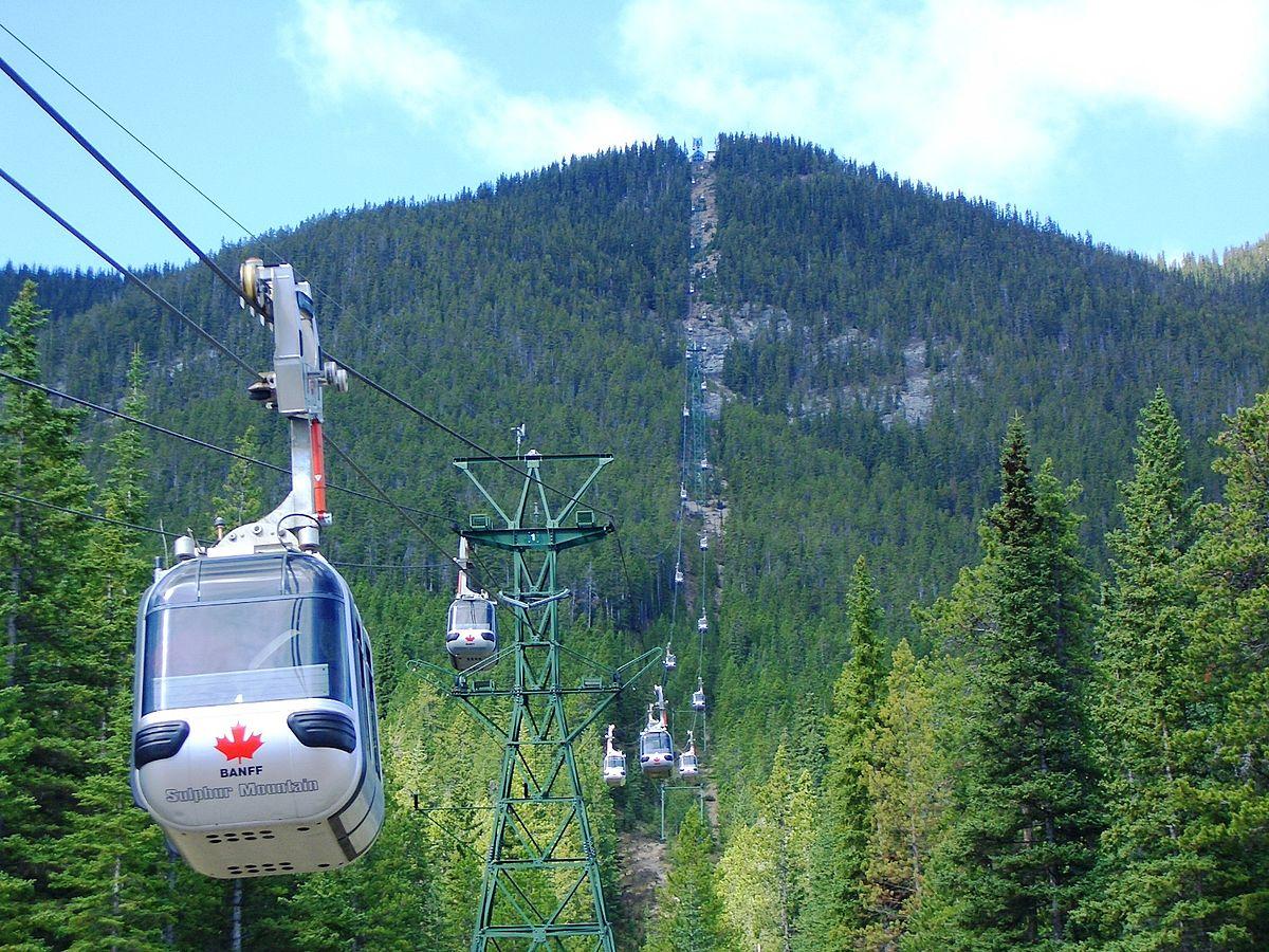Sulphur Mountain Alberta Wikipedia