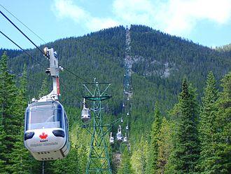 Sulphur Mountain (Alberta) - Image: Day 267jsulphurmountain
