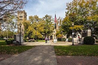 De Witt Park Historic District - Image: De Witt Park, Ithaca, New York