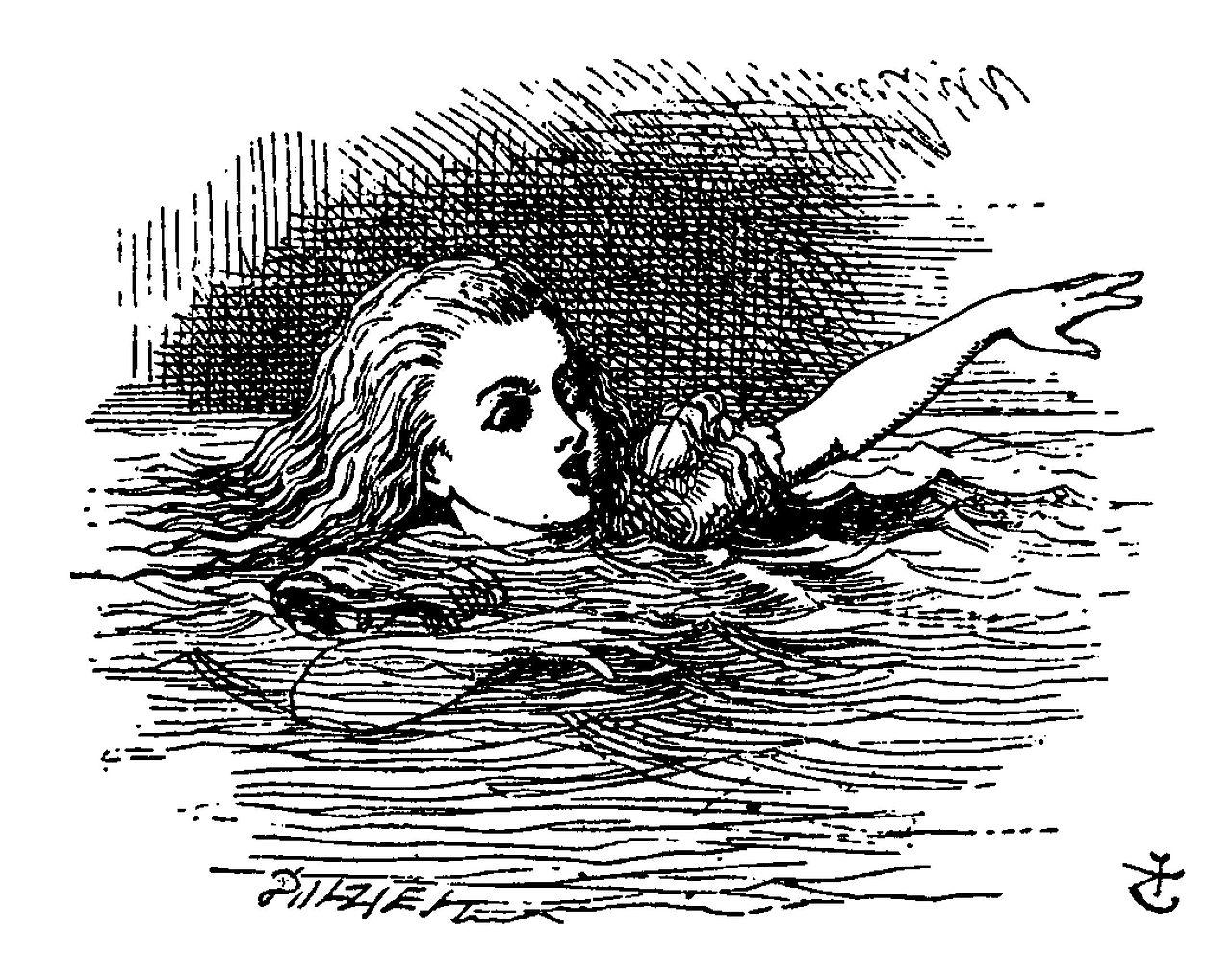 De Alice's Abenteuer im Wunderland Carroll pic 07.jpg