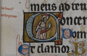 William de Brailes - Image: De Brailes Hours f. 43r