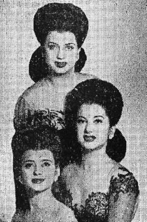 The DeCastro Sisters - Image: De Castro Sisters Billboard