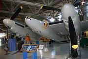 de Havilland Mosquito B 35 (reconfigured to a FB Mk.VI, on display at the Alberta Aviation Museum).