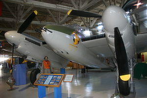 Alberta Aviation Museum - Mosquito VP189/CF-HMQ