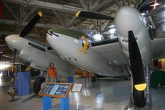 Alberta Aviation Museum - Mosquito VP189/CF-HMQ