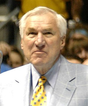 Dean Smith - Smith at a North Carolina game in 2007