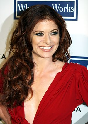 Debra Messing at the 2009 Tribeca Film Festiva...