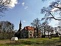 Debrzno Wieś pałac wieża.jpg