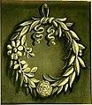 Decorative Painting with Laurel Wreath with Flowers Dutch School Academie van Bouwkunst Amsterdam (2).jpg