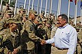 Defense.gov News Photo 110710-F-RG147-021 - Secretary of Defense Leon E. Panetta meets with troops at Camp Eggers, Kabul, Afghanistan, on July 10, 2011.jpg