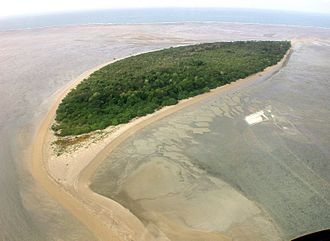 Warul Kawa Indigenous Protected Area - Deliverance Island from the north, 2002