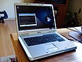 Dell Inspiron e1505n with Linux (14June2007).jpg