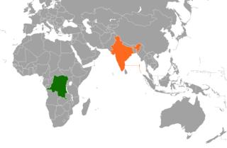 Democratic Republic of the Congo–India relations