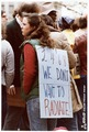 Demonstrators' signs. Anti-nuke rally in Harrisburg, (Pennsylvania) at the Capitol. - NARA - 540020.tif