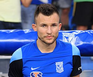 Denis Thomalla - Thomalla with Lech Poznań in 2015