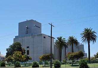 Dennington, Victoria - Powdered milk factory at Dennington