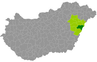 Derecske District Districts of Hungary in Hajdú-Bihar