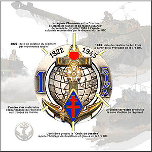 1st Marine Infantry Regiment - Image: Description 1rima