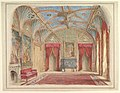 Design for the Decoration of the Drawing Room at Eastnor Castle, Hertfordshire MET DP820884.jpg