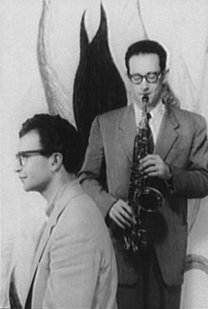 Paul Desmond - Dave Brubeck and Paul Desmond, October 8, 1954