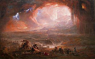 Eruption of Mount Vesuvius in 79 - Image: Destruction of Pompeii and Herculaneum