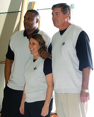 Detroit Shock - Detroit Shock coaching staff in 2007