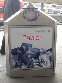 Advanced paper recycling