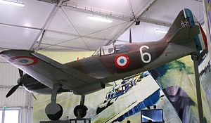 Dewoitine D.520 - A Dewoitine D.520 preserved at the French Air and Space Museum