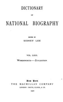 Dictionary of National Biography volume 63.djvu