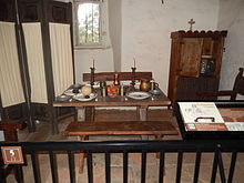 José Mutu0027s Dining Room As It Is Thought To Have Looked During His  Twenty Year Stay At The Mission. Some Years Later, Furniture Maker And  Architect Gustav ...